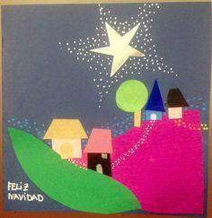 #christmascards #handmade #postales #tarjetas #navidad #BUENANUEVA