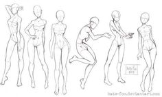 - card from user kaziavku Drawing Body Poses, Body Reference Drawing, Drawing Reference Poses, Body Sketches, Drawing Sketches, Drawings, Anatomy Drawing, Anatomy Art, Poses References