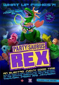 Toy Story Toons: REX Festasaurus (PT)(curta)