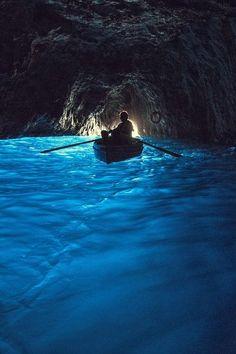 Grotta Azzurra in Capri, Italy