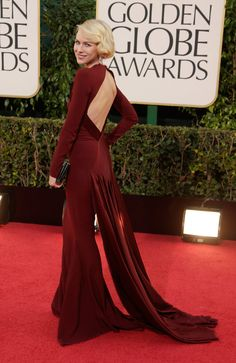 Naomi Watts 'n klassieke wenner deur Zac Posen / A stunner in Zac Posen (Gallo Images/Getty Images)