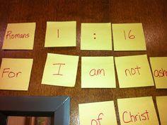 Scripture Scramble Puzzle
