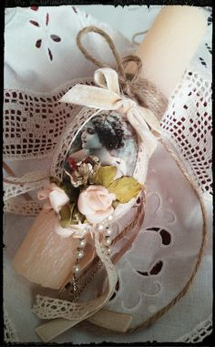 Pastry Shop, Shabby Chic, Candles, Art Deco, Easter Ideas, Diy, Patisserie, Bricolage, Candy