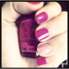 Pink shades manicure <3