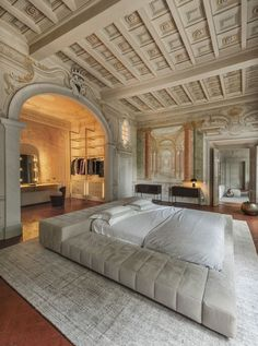 Dream Home Design, My Dream Home, Home Interior Design, Interior Architecture, Classical Architecture, Aesthetic Rooms, Beige Aesthetic, Dream Rooms, House Rooms