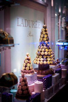Ladurée Christmas Macarons, Paris, France