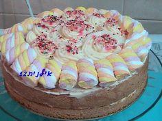עוגת טורט עם קצפת - אוכל טעים ומגוון במטבח של דליה(אילנית12) - תפוז בלוגים