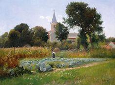 Gyula Zorkoczy. Hungarian Landscape Painter ~ Blog of an Art Admirer