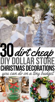 4 Easy Steps For Developing A Sunroom These 30 Dollar Store Diy Christmas Decorations Are So Easy To Do So Happy I Found These Inexpensive Holiday Home Decor Ideas From The Dollar Tree Now I Can Stay On Budget And Make Homemade Decor To Make My House Look Decoration Christmas, Christmas Crafts For Kids, Christmas Diy, Christmas Ornaments, Christmas Cactus, Christmas On A Budget, Christmas Music, Handmade Christmas, Christmas Trees