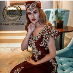 Arab Fashion, Luxury Dress, Traditional Outfits, Marie, Caftans, Model, Dresses, Embroidery, Style