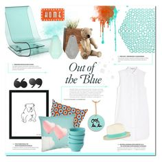 """""""Out of the Blue"""" by justlovedesign ❤ liked on Polyvore"""