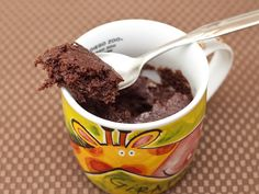 1 one minute low calorie brownie in a mug - add a half tbsp more of brown sugar and some chocolate chips :D Replace oil with applesauce