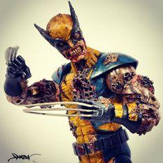 Zombie Marvel Sculptures   adrianlinks.com