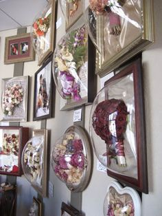 Framed Freeze Dried Flowers