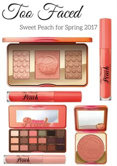 Faced Sweet Peach for Spring 2017 Coming to Sephora and Ulta Too Faced Sweet Peach for Spring 2017 is showing on the and site Faced Sweet Peach for Spring 2017 is showing on the and site Kiss Makeup, Love Makeup, Hair Makeup, Sleek Makeup, Makeup Hairstyle, Makeup Set, Hairstyle Ideas, Hair Ideas, Make Up Palette