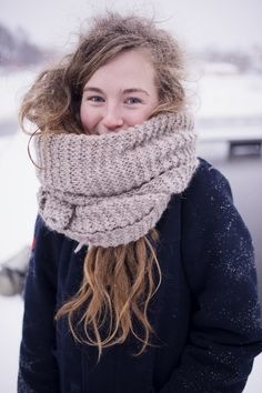 how about a big cozy scarf? #RackUpTheJoy
