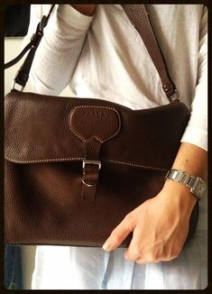 Prada Brown Satchel