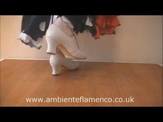 Bulerias step (Paso de Bulerías) Flamenco Tutorial - YouTube