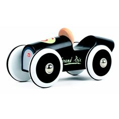 Baghera small black wooden race car