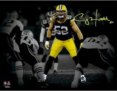 Clay Matthews Green Bay Packers Signed 11x14 Stance Spotlight Photo from $203.99