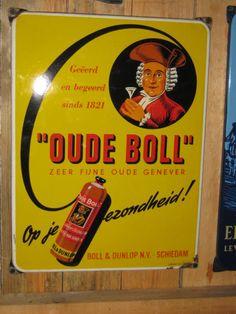 oude emaille reclame borden
