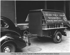 CPL Throwback Thursday - Trailer Service From The Legler Regional Library, Circa. 1940 The Legler Library at 115 South Pulaski Road began an...
