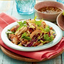Thai Chicken Salad - Perfect meal for Spring time.