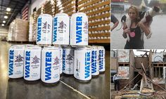 People before profit. There is goodness out there...Anheuser-Busch ships emergency drinking water to Hurricane victims