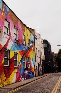 Shoreditch - Colorful - London