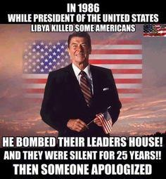 I miss Pres. Reagan!