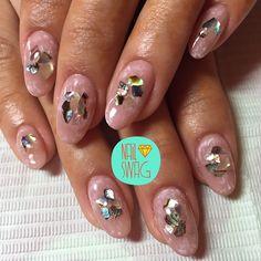 THE TIDEPOOL NAIL for Dadonna using abalone shimmers from @athenarocksnails! #nailswag #nails #nailart #nailartclub #swag #gelnail #LA