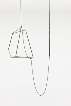 Emma Price  'Necklace 2′  silver, brass, gold  2010