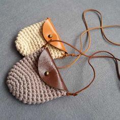 1 pcs 2015 novas crianças mão tecido pequeno saco/Simples de crochê feito à mão bolsa de couro/saco de ombro bolsa personalidade em de no AliExpress.com | Alibaba Group