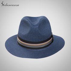 Brand Fashion Men Women Lover Summer Beach Sun Hats Straw Jazz Hat Oh Yeah #shop #beauty #Woman's fashion #Products #Hat