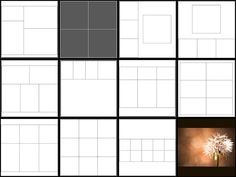 Album and photo book template
