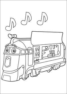 Dibujos para Colorear Chuggington 13