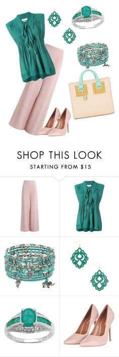 """""""Wednesday, September 21, 2016"""" by carnescp ❤ liked on Polyvore featuring Zimmermann, Étoile Isabel Marant, Accessorize, Malaika, Topshop and Sophie Hulme"""