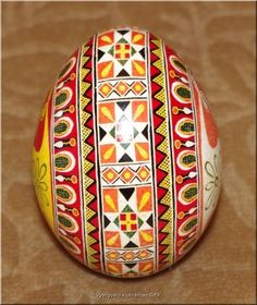 Pysanka Real Ukrainian Easter Egg High Quality Pysanky from Ukraine | eBay
