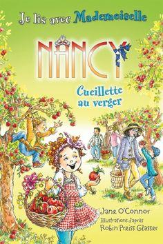 Mademoiselle Nancy invite ses jeunes lecteurs à l'accompagner au verger. Les pommes Gala sont les préférées de son papa (avec un tel nom, ces pommes doivent assurément être très spéciales!). Nancy réussira-t-elle à trouver la plus belle?
