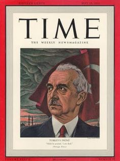 A cover gallery for Time Turkic Languages, Semitic Languages, Turkey History, Blue Green Eyes, Indian Language, Time Magazine, Magazine Covers, Ottoman Empire, The Republic