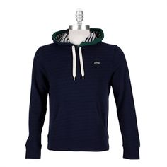 Lacoste Men's Contemporary Live Ultra Slim French Terry Hoodie #VonMaur #Lacoste
