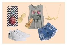 """""""Untitled #93"""" by olga05 ❤ liked on Polyvore featuring adidas, Minnie Grace and Vinca"""