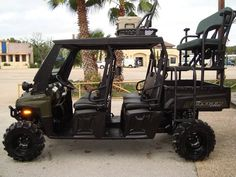 Hunting Conversions | Coastline Polaris Off Road, Hunting Truck, Polaris Ranger Crew, Ford Bronco, Back Seat, Go Kart, Golf Carts, Car Accessories, Offroad