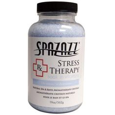 Hot Tub Spazazz Rx Chemicals Stress Therapy 7454