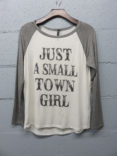 Just A Small Town Girl Top - Piace Boutique