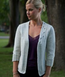 Lovely lacy cable cardigan cable knitting patterns and patterns knit cardigan pattern from twist collective body in one piece w set in sleeves dt1010fo