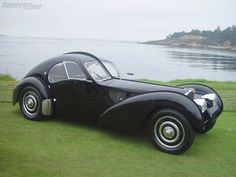 1936 Bugatti Type 57SC Atlantic... at $30,000,000+, the most expensive car ever sold.