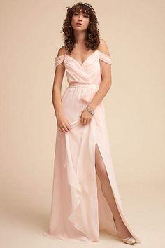 So so pretty! Anthropologie Kane Wedding Guest Dress #anthropologie #anthrofave #anthrohome #dropsleeves #dress #dresses #ad