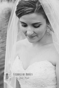 #bride #portrait #black&white #julieneal