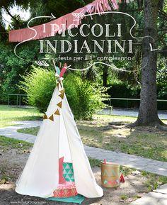 Arriva la cicogna: Festa a tema piccoli indiani per il primo compleanno!  WWW.ARRIVALACICOGNA.COM